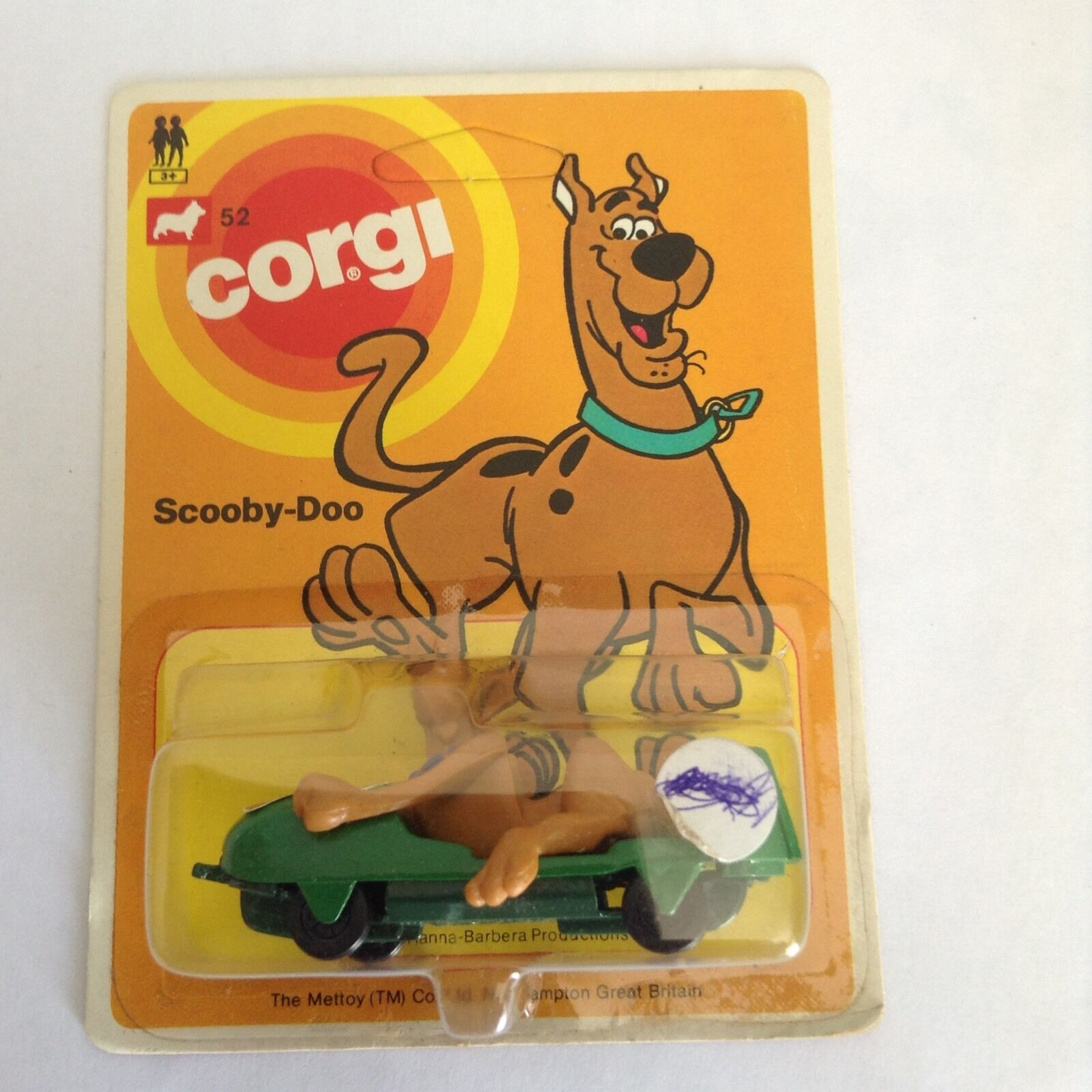 Corgi No 52 Carded Unpunch Juniors Scooby Doo.