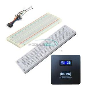 2PCS Solderless PCB BreadBoard 270 Points 23x12 SYB-46 Test kit for arduino uno
