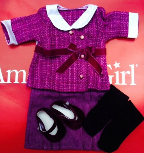 New American Girl Caroline/'s BeForever Meet Outfit SHOES NEW