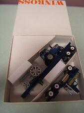 Winross Keller Bros Kubota Ford Flatbed w/ Ford TW-35 & Steel Wheel Tractors MIB