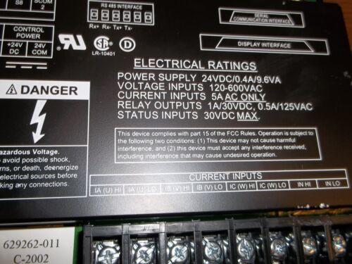 BB3 ASCO 5220 POWER MANAGER TRANSDUCERXP 5220T PN 629268  PLC
