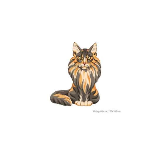 transferencia de Print patch para plancha Perchas imagen hypno Cat