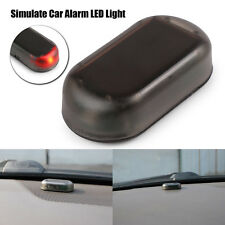 Solar-Power Car Dummy Alarm Warning Stimulated Anti-Theft Flashing LED Light RED