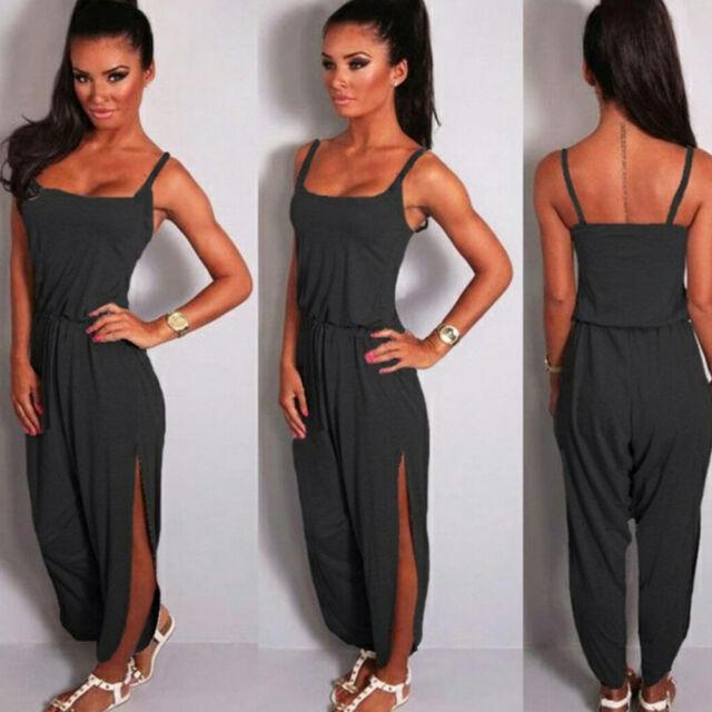 Women Ladies Clubwear Summer Playsuit Bodycon Party Jumpsuit Romper Trousers Hot