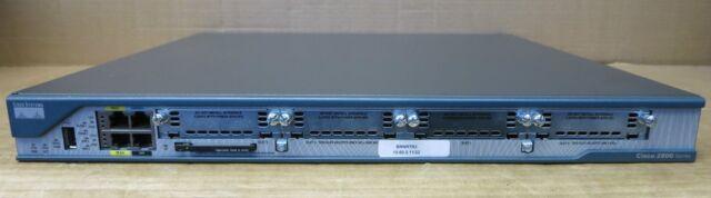 Cisco 2801-HSEC/K9 64F/256D IOS 15.0 Router CCNA CCNP CCIE Tax Inv