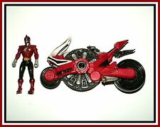 2011 Power Rangers Samurai - Red Samurai Disc Cycle with Ranger _ *Must See*