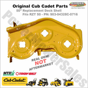 image is loading cub-cadet-50-034-deck-shell-yellow-rzt-