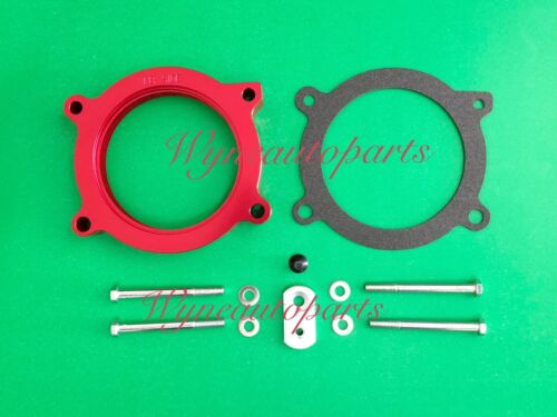 RED Throttle Body Spacer Kit Fits For 2005 2006 Pontiac GTO 6.0L