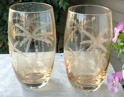 Fostoria Crystal COIN GLASS RUBY Flat Ice Tea Tumbler BEST More Items Available