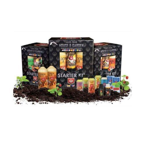 Additive Set House /& Garden Aqua Flakes Starter Kit Hydroponic Nutrient