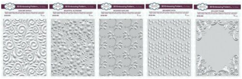 Sue Wilson 3D Embossing Folders Garland Dots Creative Expressions Opulent