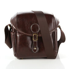 Waterproof PU Leather Vintage DSLR SLR Camera Single Shoulder Bag Case Universal