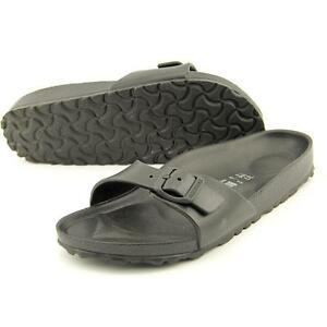 d262f04fed1 Birkenstock Madrid Eva 128163 Black Ladies Plastic Sandal Various ...