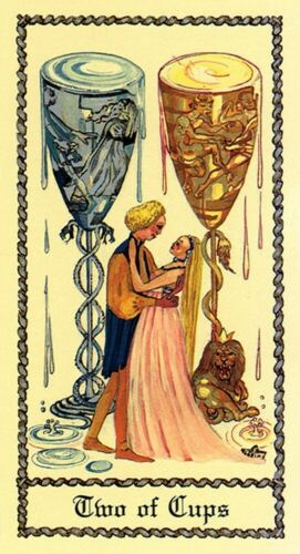 Insightful readings The Medieval Scapini Tarot Detailed illustrations