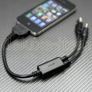 Bmw Mini Ipod Iphone 3g 3gs 4g 4 Usb Aux Cable Adapter Ebay