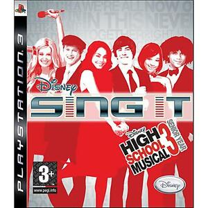 PS3-Disney-Sing-It-High-School-Musical-solo-gioco-NUOVO