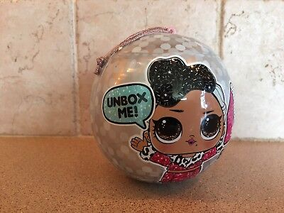 LOL Surprise Bling Series Holiday Doll Ball Christmas Ornament New