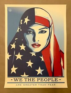 Shepard Fairey Obey Giant We The People 18x24 Poster Print Greater!