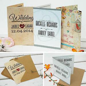 Personalised-Wedding-Invitations-with-Envelopes-Folding-Day-amp-Evening-Invites