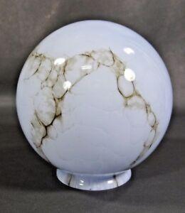 ART-DECO-BOHEMIAN-LOETZ-CASED-BLUE-GLASS-LAMP-SHADE-GLOBE-SMOKEY-GREY-SLAG-6-034