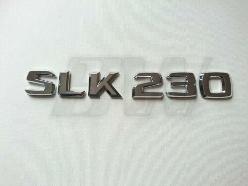 SLK 230 Trasero Insignia Letras para adaptarse Mercedes SLK Gama
