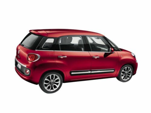 Fiat 500 L Drivers Front Chrome poignée de porte origine Fiat 2013-17