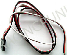 600mm 60cm RC Receiver micro standard Servo Lead Wire FUTABA Connector male Plug