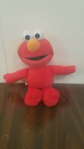 "Sesame Street 12/"" Red Elmo Plush Doll Kids Toy NWT 18 month+"