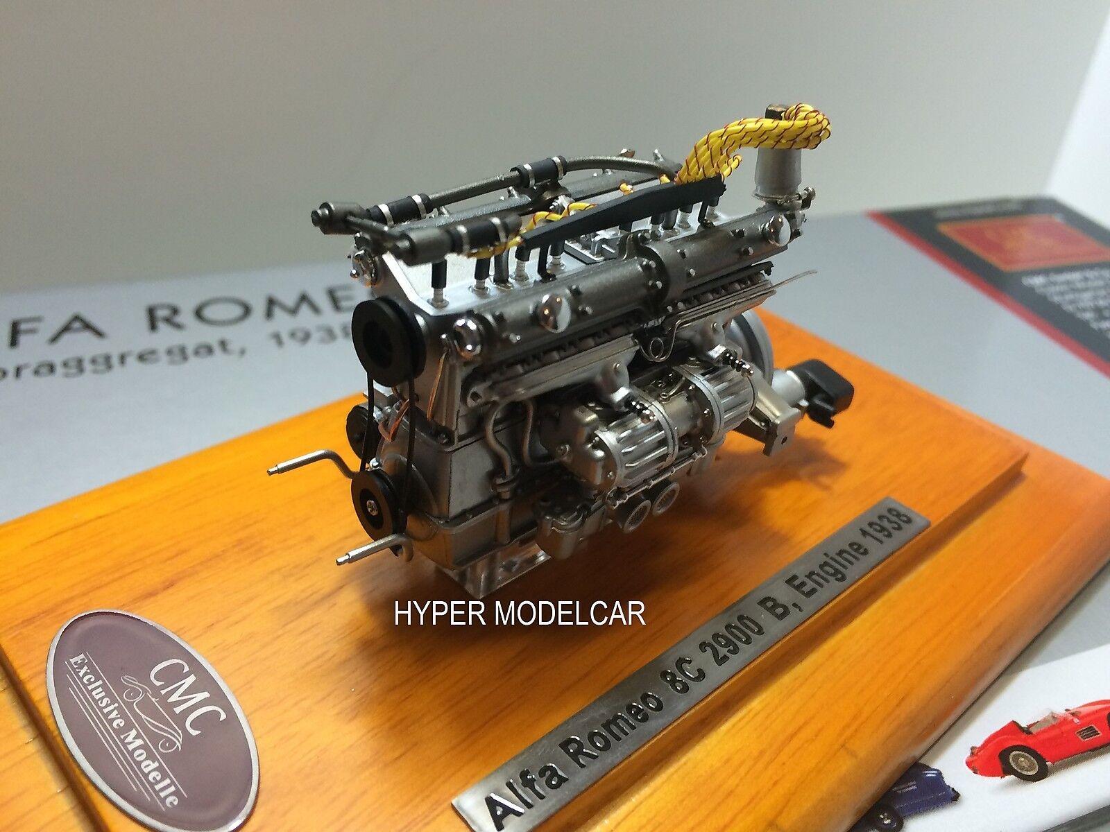 calidad fantástica CMC 1 1 1 18 Engine Motore Alfa Romeo 8C 2900B Speciale Touring Coupè 1938 Art. M131  la mejor selección de