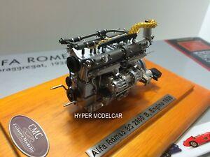 Cmc 1/18 Moteur Moteur Alfa Romeo 8c 2900b Coupé Touring Spécial 1938 Art M131