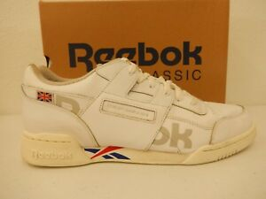 Reebok Workout Plus Altered White Tm Dark Royal Exc Red Snow Grey ... be92eb110