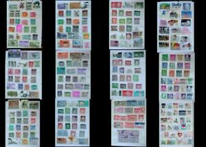 Large Stamp Collection India Bangladesh Ireland & United States, Free Shipping