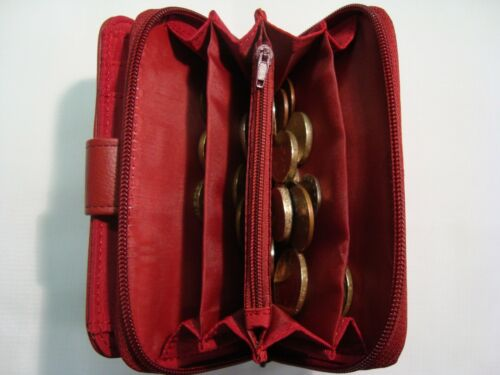 Ladies Leather Purse Wallet with Large Coin Pocket and all the Features RFID
