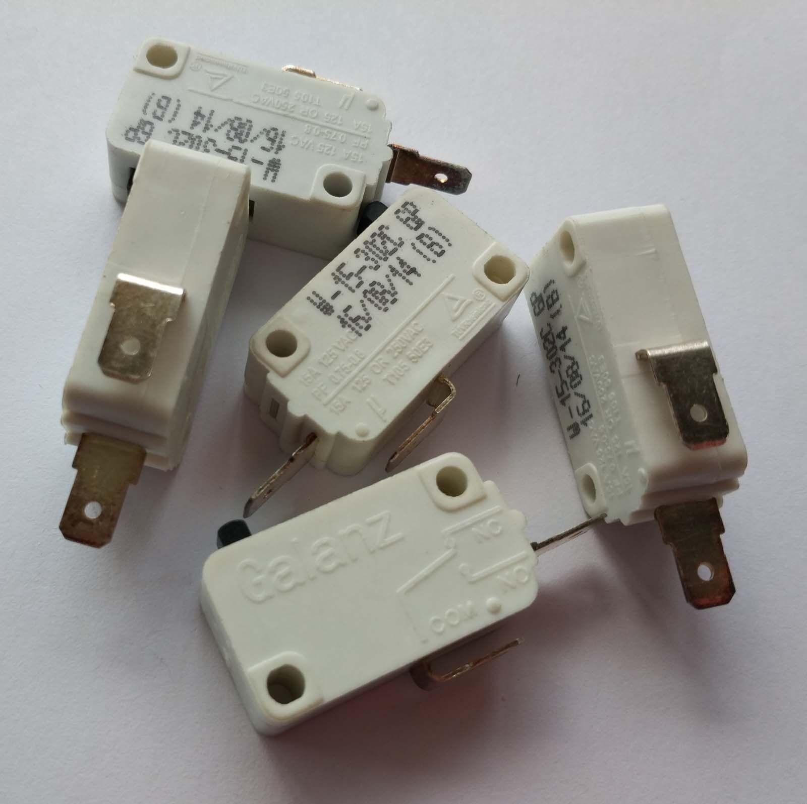 5pcs W-15-302C Microwave Universal Interlock Switch