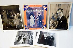 RARE-CINEMA-BILIOTHEQUE-034-LE-DANSEUR-INCONNU-034-1928-n-Special-HS-92-1930-15-photos