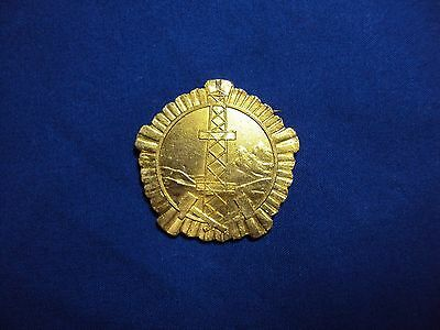 ALBANIA ORDER MINER GEOLOGY 1 CLASS ALBANIAN MEDAL DURING COMUNISM 1945-1990 R2