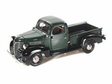 "Motor Max 1941 Plymouth Pickup truck diecast 1:24 scale 8"" model car Green M85"