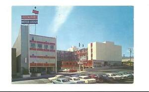 RENO-NV-Red-Carpet-Motor-Lodge-Motel-Vtg-1960-039-s-Cars-PC