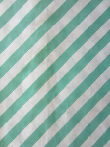 Stripe Paper Bags x 24 Lolly Loot Candy Buffet Wedding Party Favours Gift