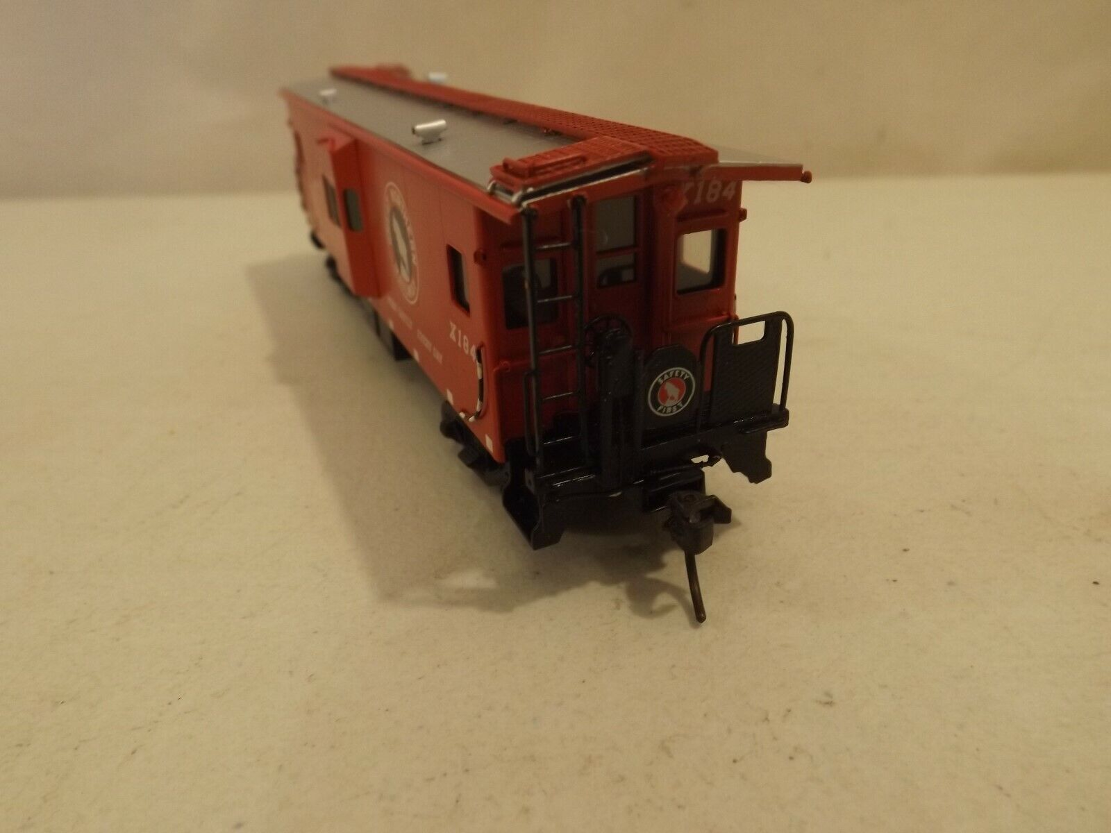 HO Oriental Limited brass Great Northern bay window caboose in in in original scatola 09a179