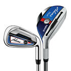 New Adams Golf Blue Combo Irons 3H, 4H, 5-PW - EASY TO HIT LOW CG - Pick Set