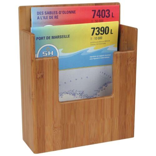 Bambus Marine Halter Glashalter Flaschenhalter Tablett Handlauf Fernglashalter