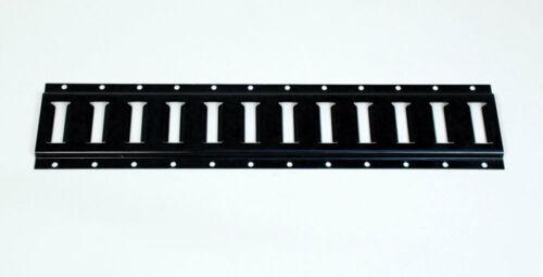 5ft E-Track Steel Black  MACS CUSTOM TIE-DOWNS 270001