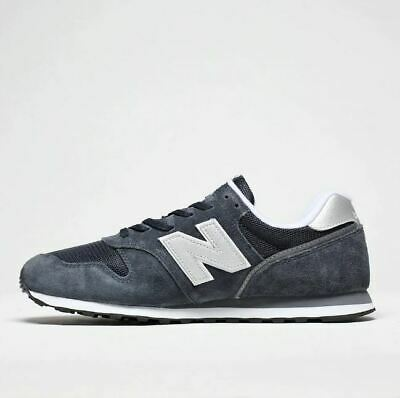 New Balance 373 v2 Navy & Silver Men's Trainer Sneakers / Limited Size | eBay