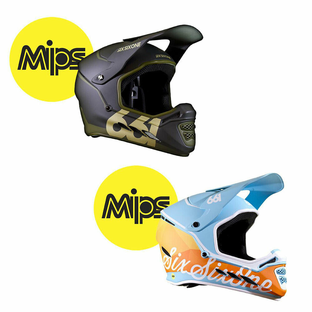 Sixsixone Reset Mips Helmet 2019 Full Face Mountain Bike Downhill