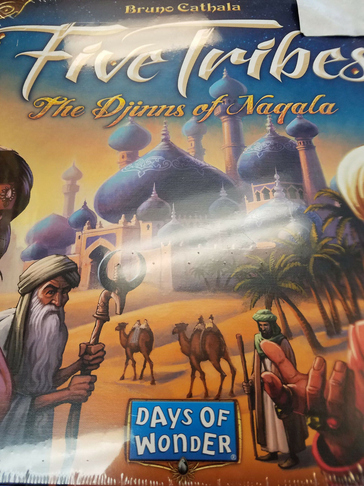 Five Tribes The Djinns of Naqala - Days of Wonder Games Board Game New