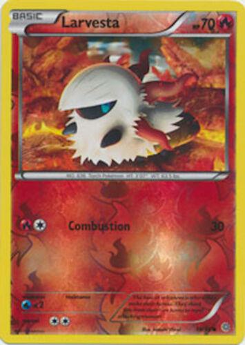 Larvesta 16//98 XY Ancient Origins REVERSE HOLO MINT Pokemon