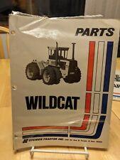 Steiger Wildcat Bnwt Parts Manual Hard To Find