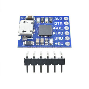 CP2102 Micro USB to UART TTL Module 6Pin Serial Converter UART STC Replace FT232