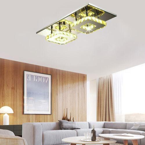 24W LED Kristall Warmweiß Deckenleuchte Flurleuchte Schlafzimmer Lampe